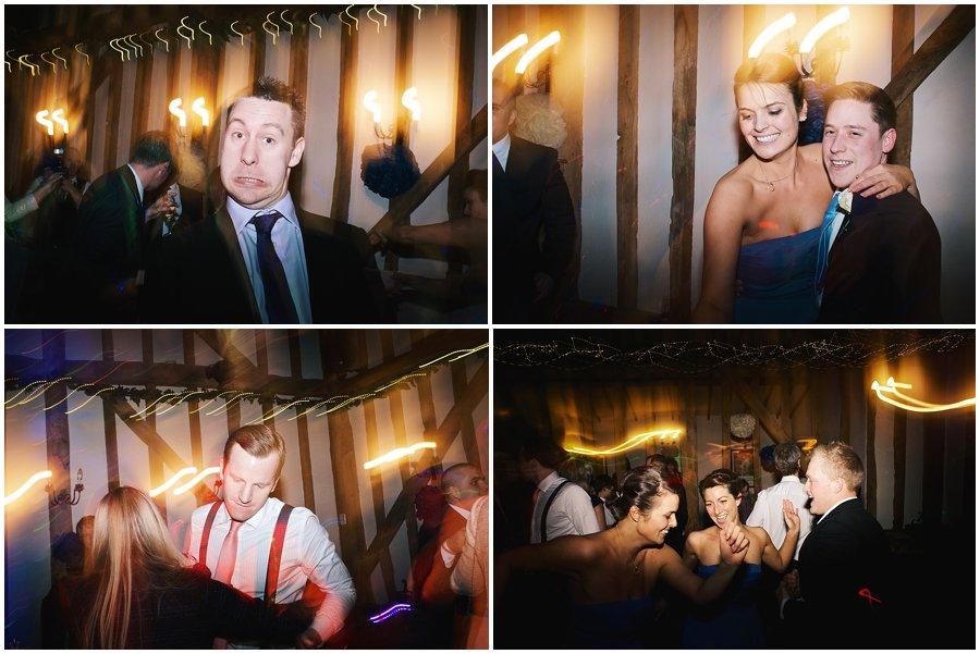 guests dancing at Crondon Part wedding.