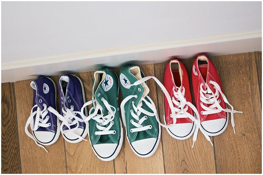 Converse Allstar Flower Girl Shoes