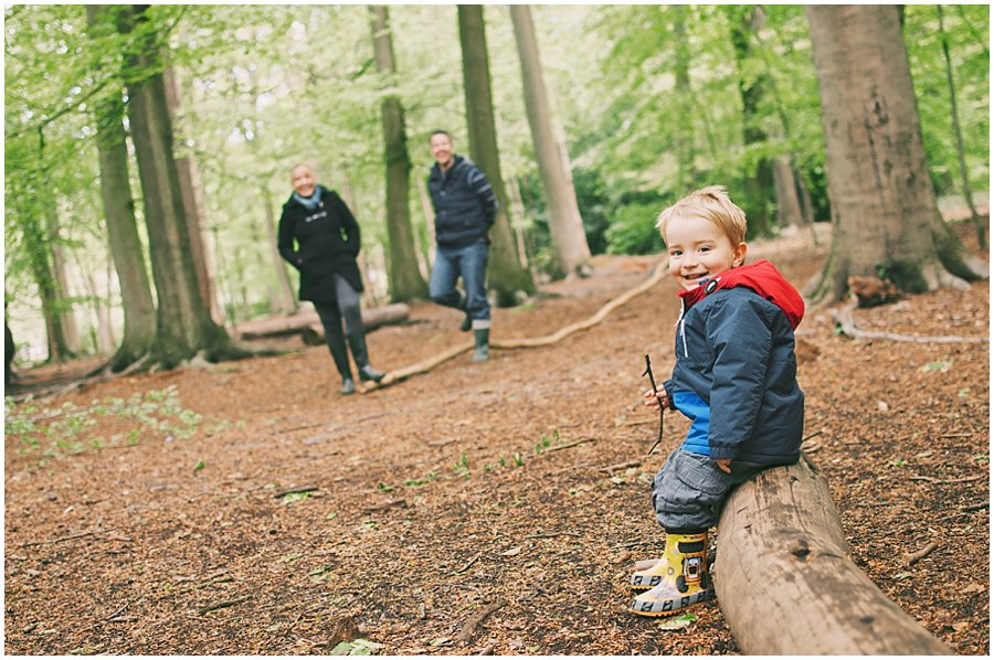Family Photography at the Gruffalo Trail, Thorndon Country Park