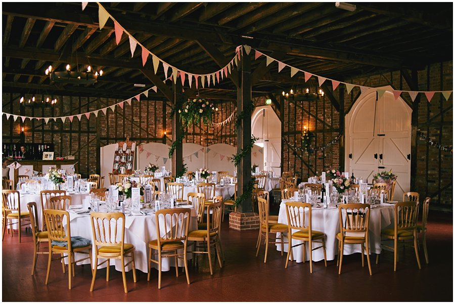 Wedding at The Coach House, Marks Hall Estate