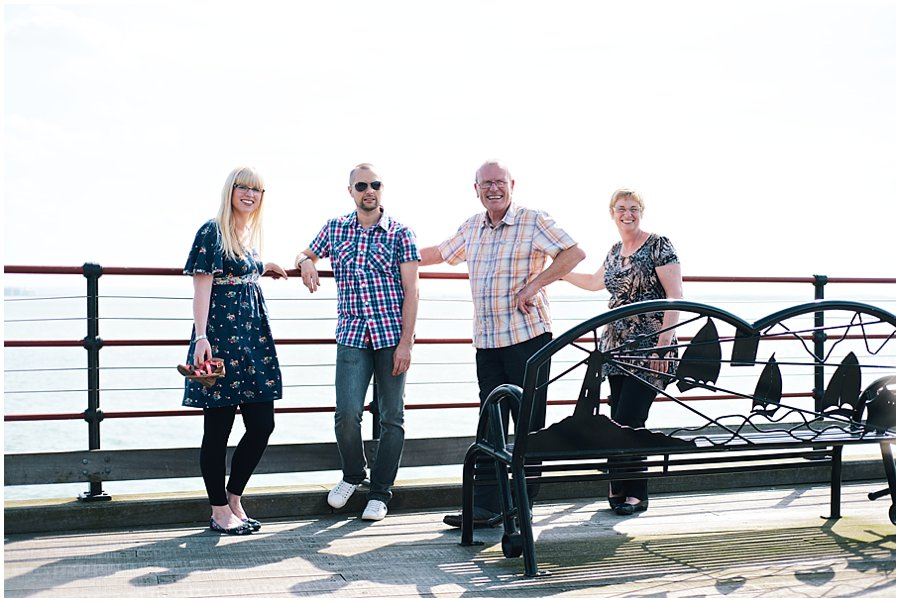 Family Photography on Southend Pier