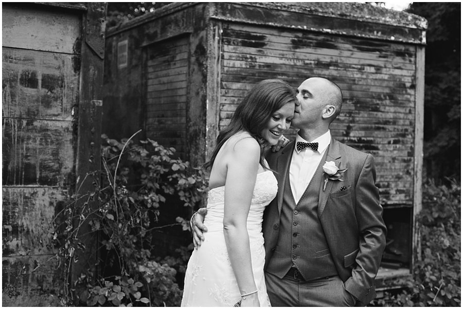 Creative Wedding Photography at Marks Hall Estate