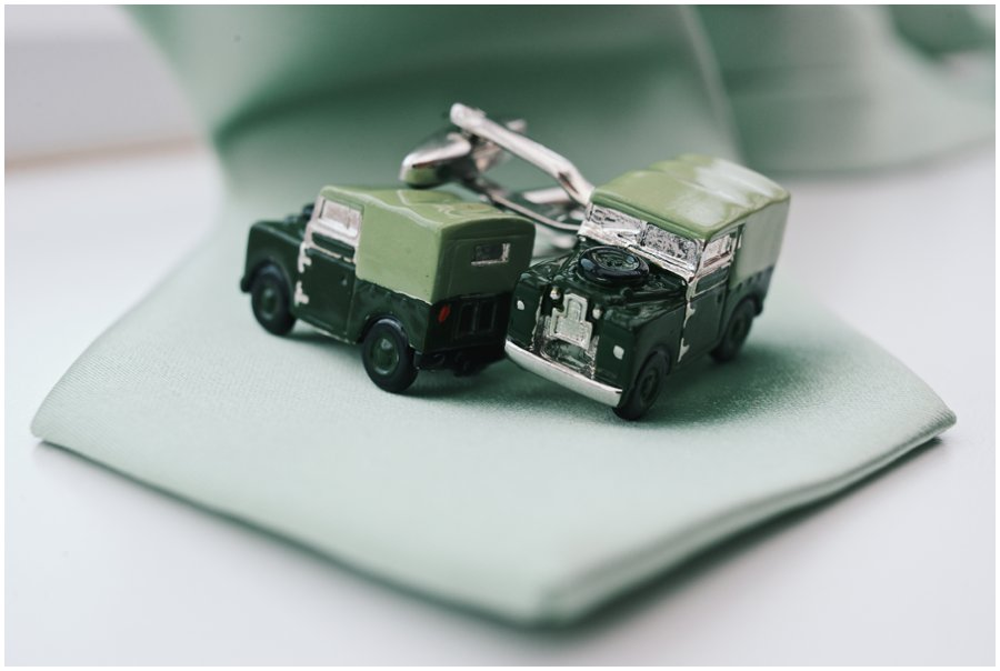 landrover cuff links