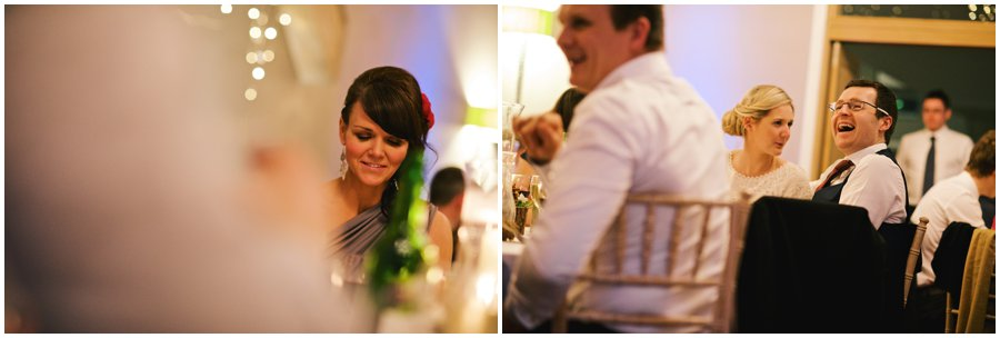 guests at hyde barn wedding