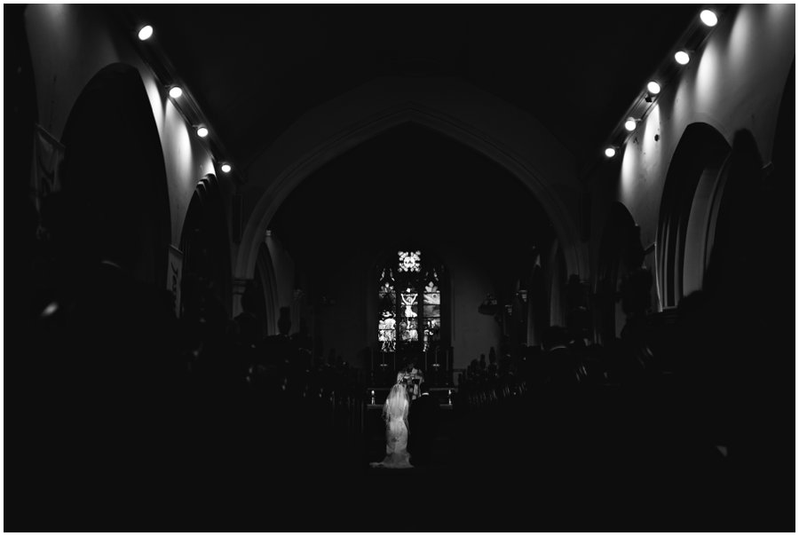 Wedding at st clement's church in Leigh-on-sea