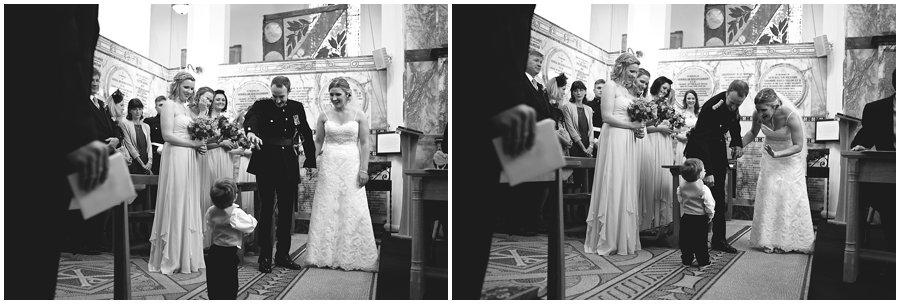 Natural wedding photography at Sandhurst