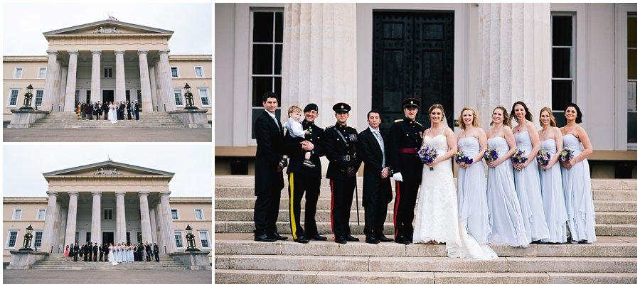 Wedding Group Shots at The Royal Military Academy