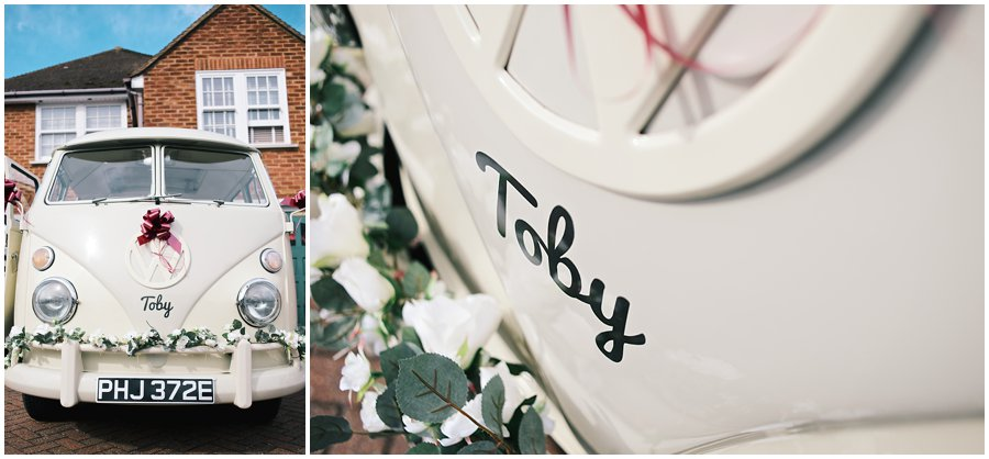 Essex Wedding VW Camper Van by DipDubs