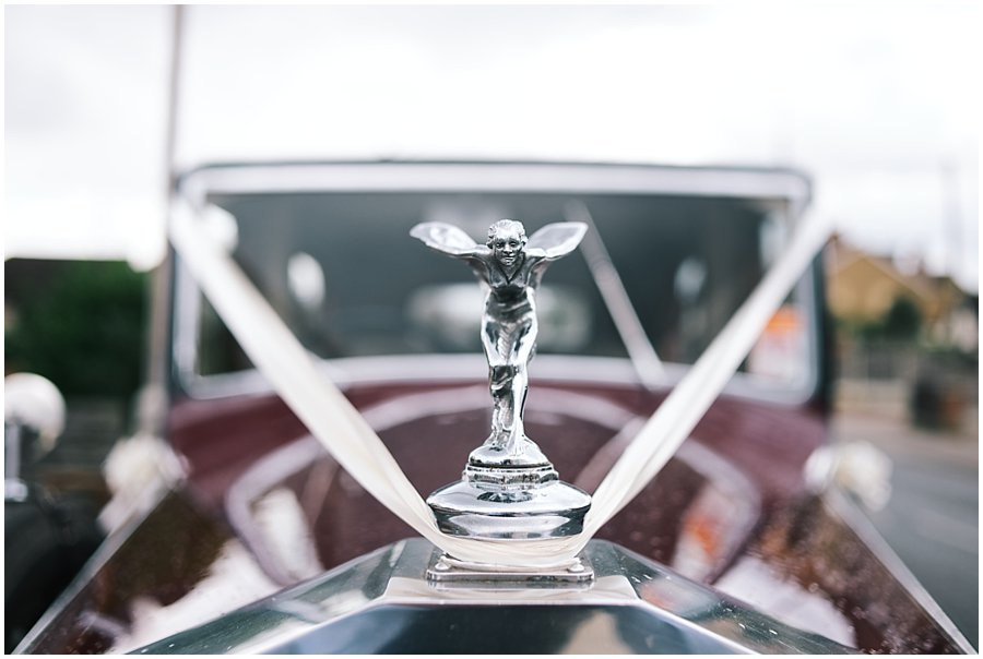 Wedding Rolls Royce in Essex by Arrow Vintage Cars