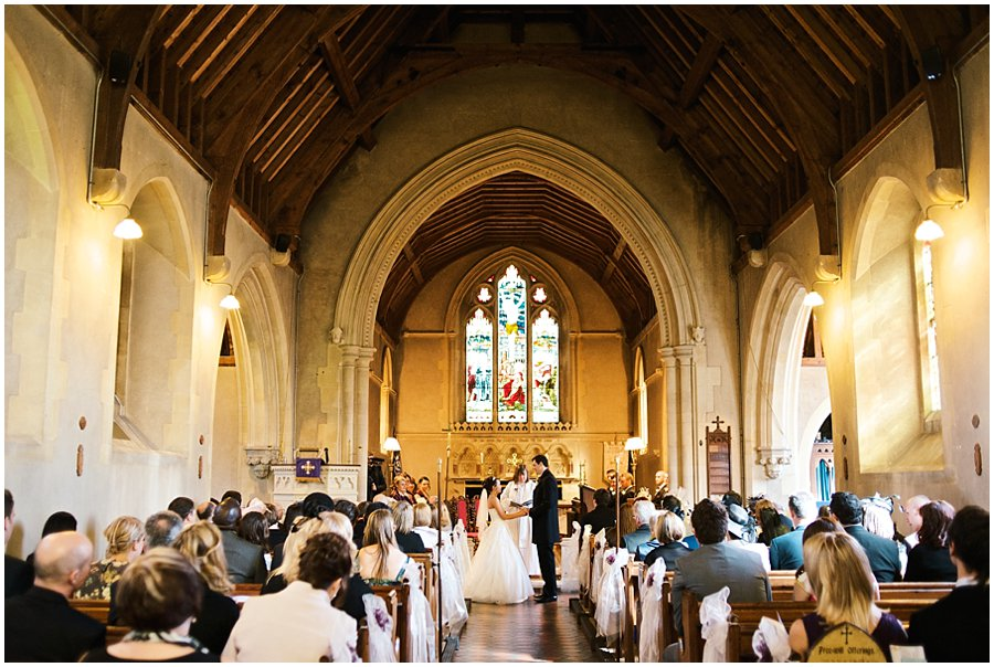 Wedding at East Hanningfield Church