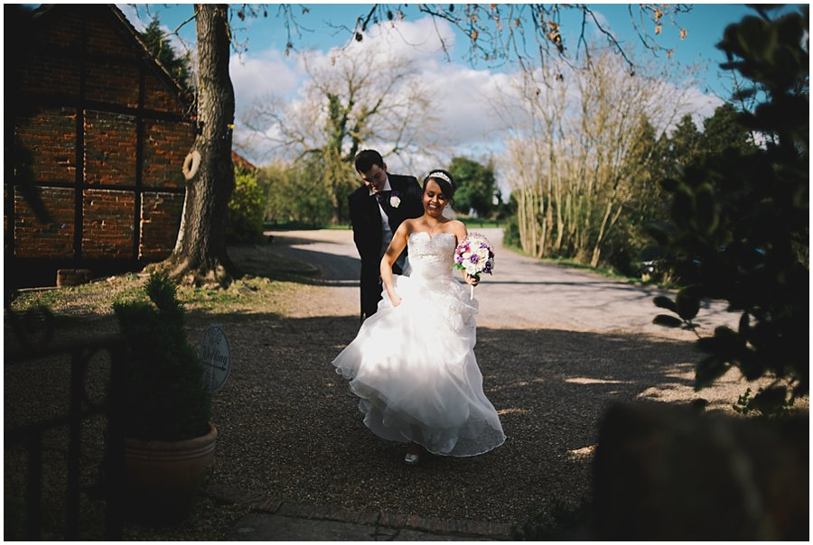 Wedding at Newland Hall
