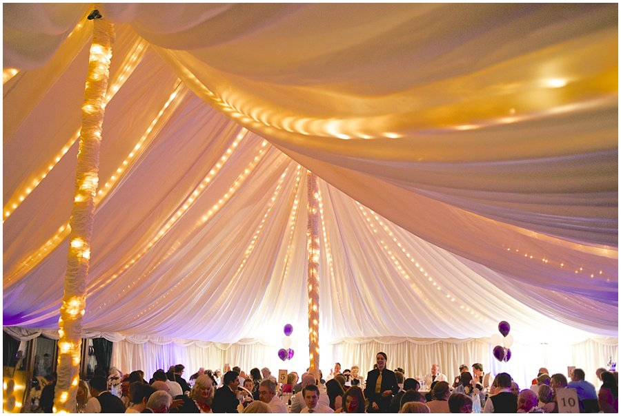 Newland Hall Wedding Marquee