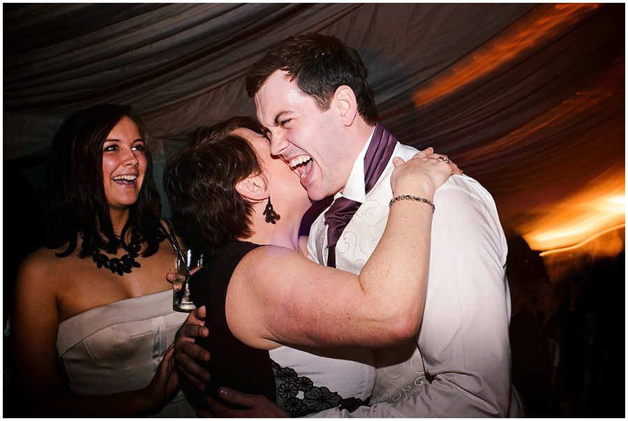 Guests dancing at Newland Hall Wedding