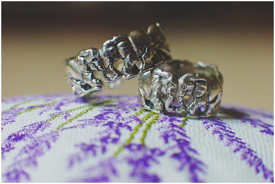 Patrick Mavros Elephant Wedding Rings