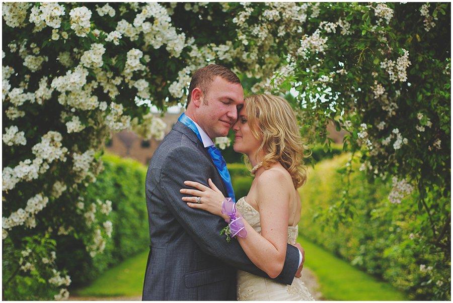 Wedding portrait at Stoneleigh Abbey
