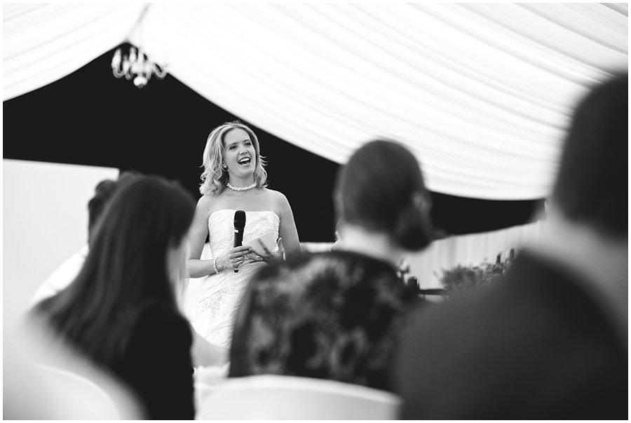 Wedding speeches at Stoneleigh Abbey