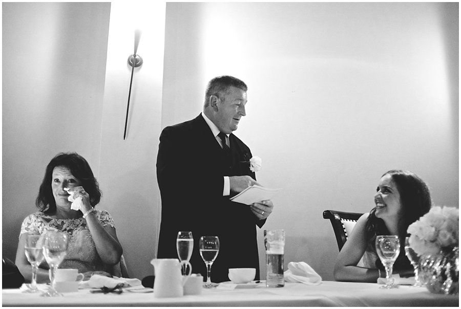 Father of the bride speech at Woodhall Manor wedding
