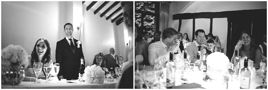 Groom's speech at Woodhall Manor Wedding