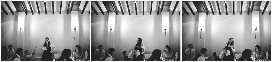 Maid of honour speech at Woodhall Manor