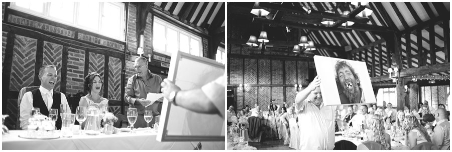 wedding speeches at Ye Olde Plough House