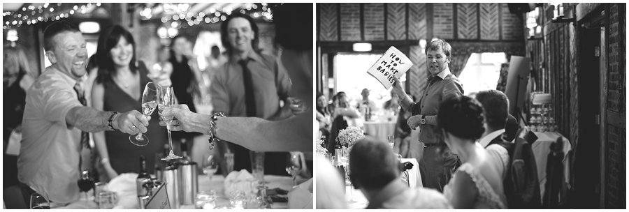 wedding speeches at Ye Olde Plough House