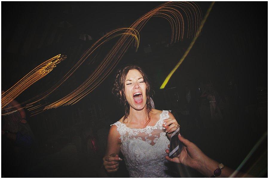 bride dancing at Ye Olde Plough House