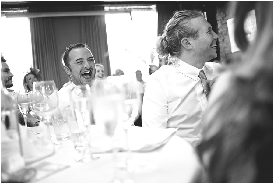 best men laughing at the century club