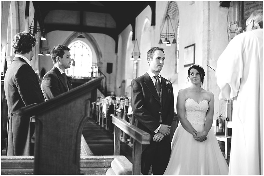 wedding at Barham Church