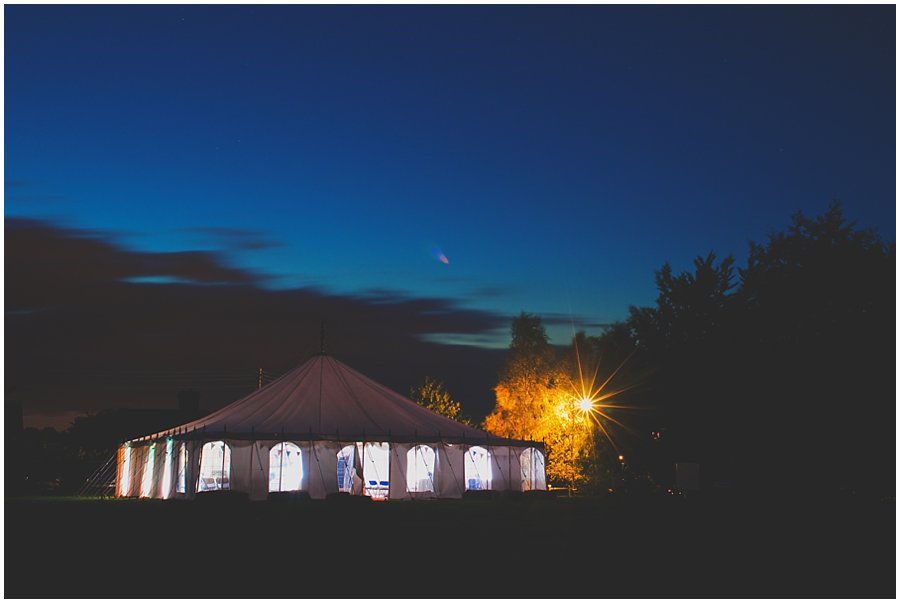 Kent wedding marquee