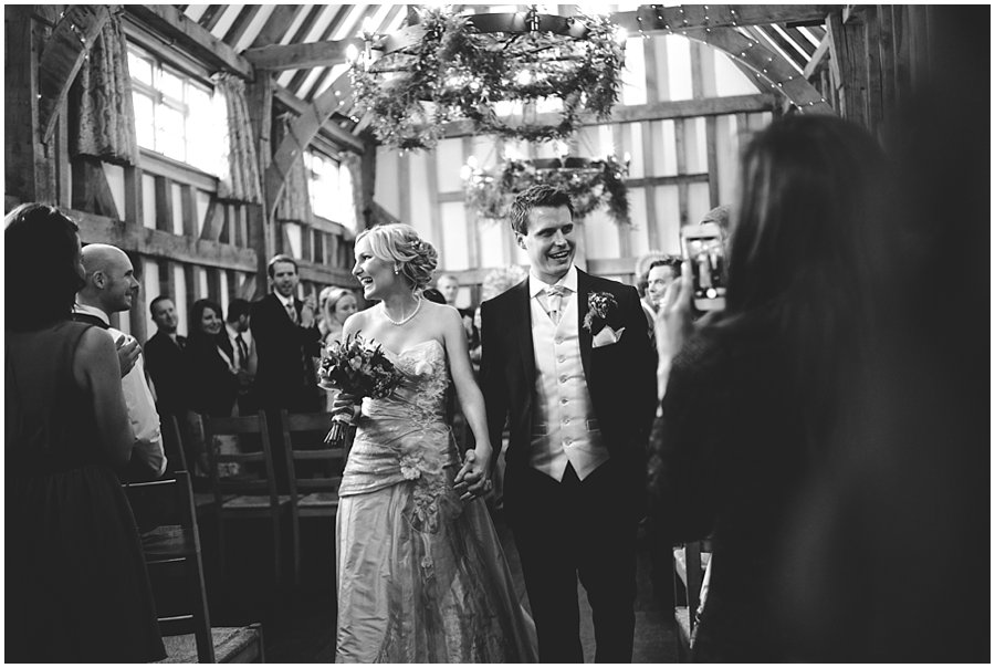 Documentary wedding photography at Gate Street Barn
