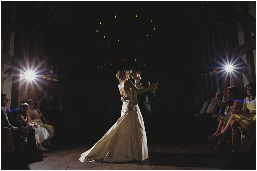 First dance at Gate Street Barn