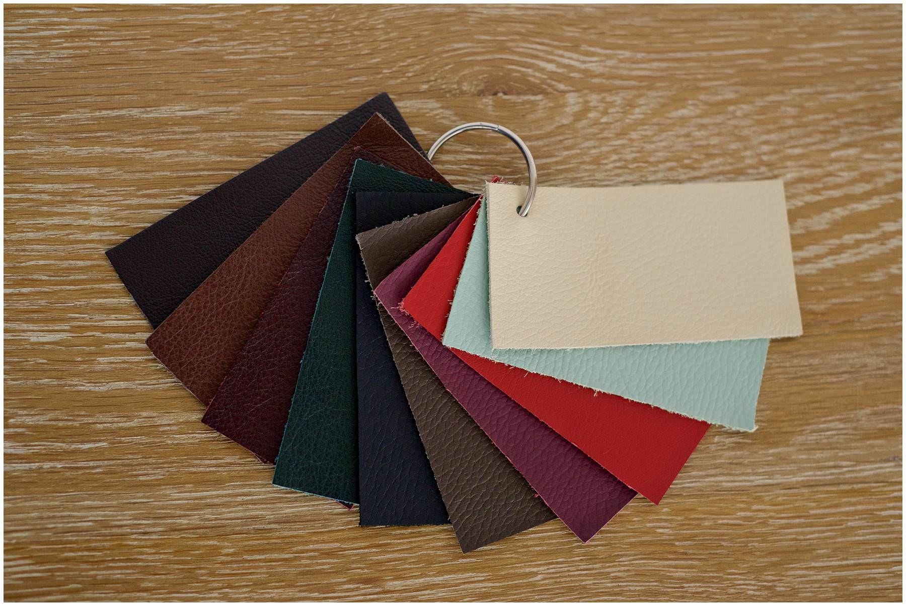 Folio Leather Swatches