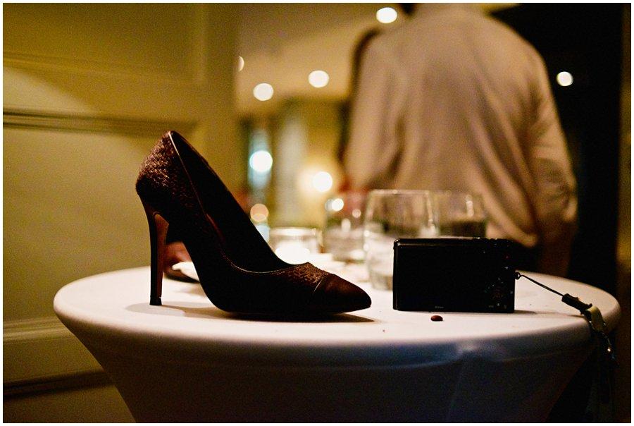 Alternative wedding shoe
