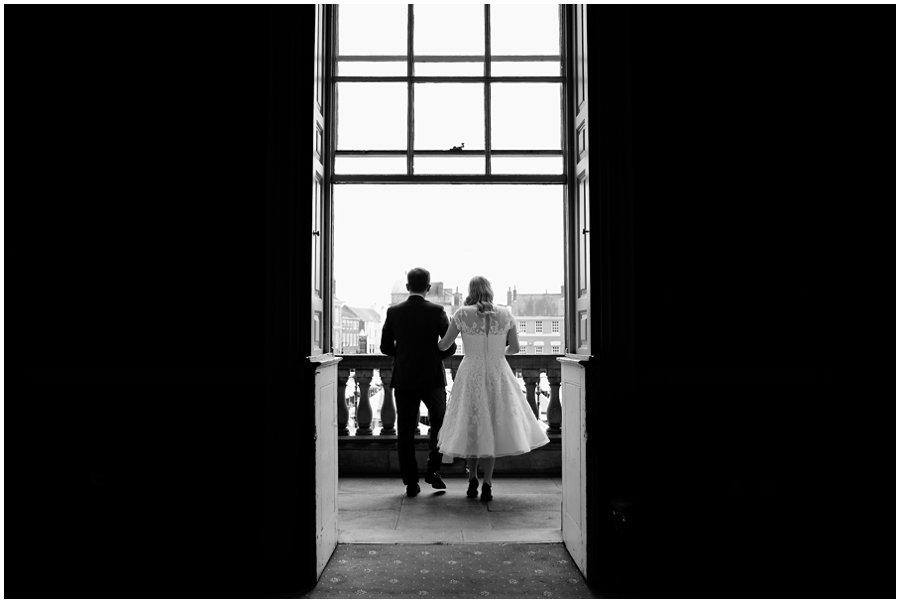 Wedding at Newark Town Hall