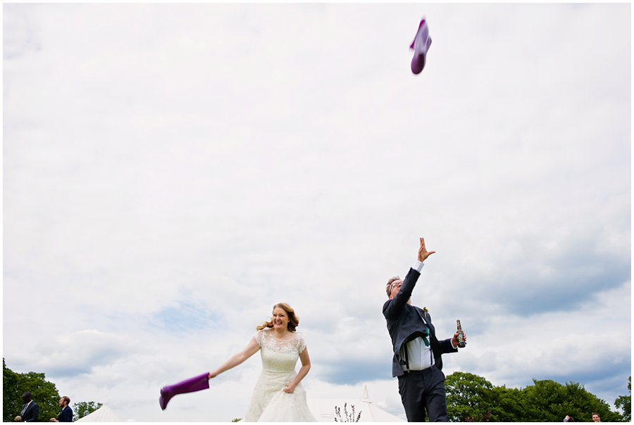 welly wanging wedding