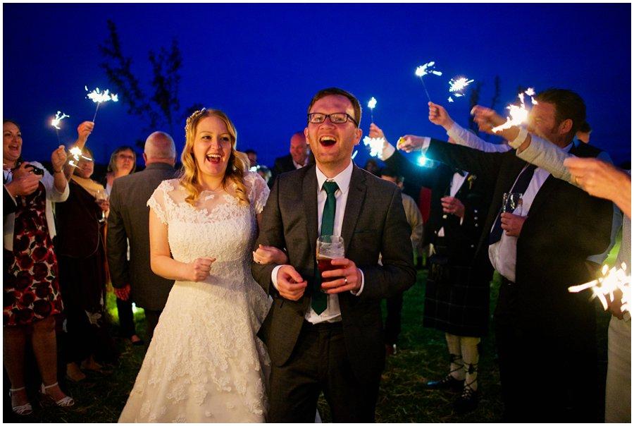 Wedding sparklers Newark