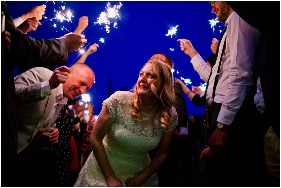 Wedding sparklers Newark