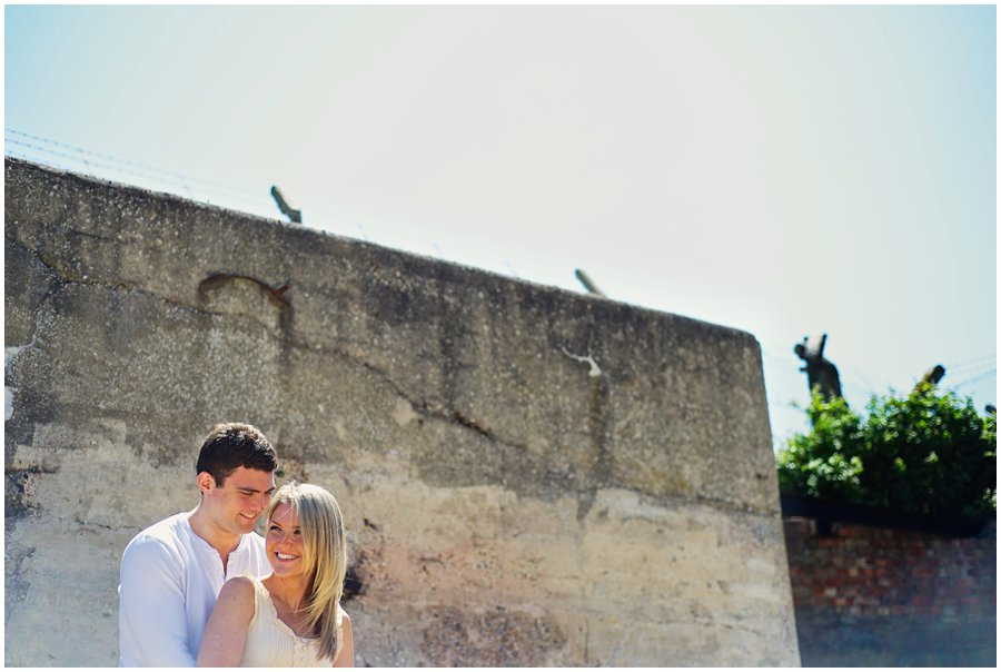 Shoebury Garrison Pre-wedding Shoot