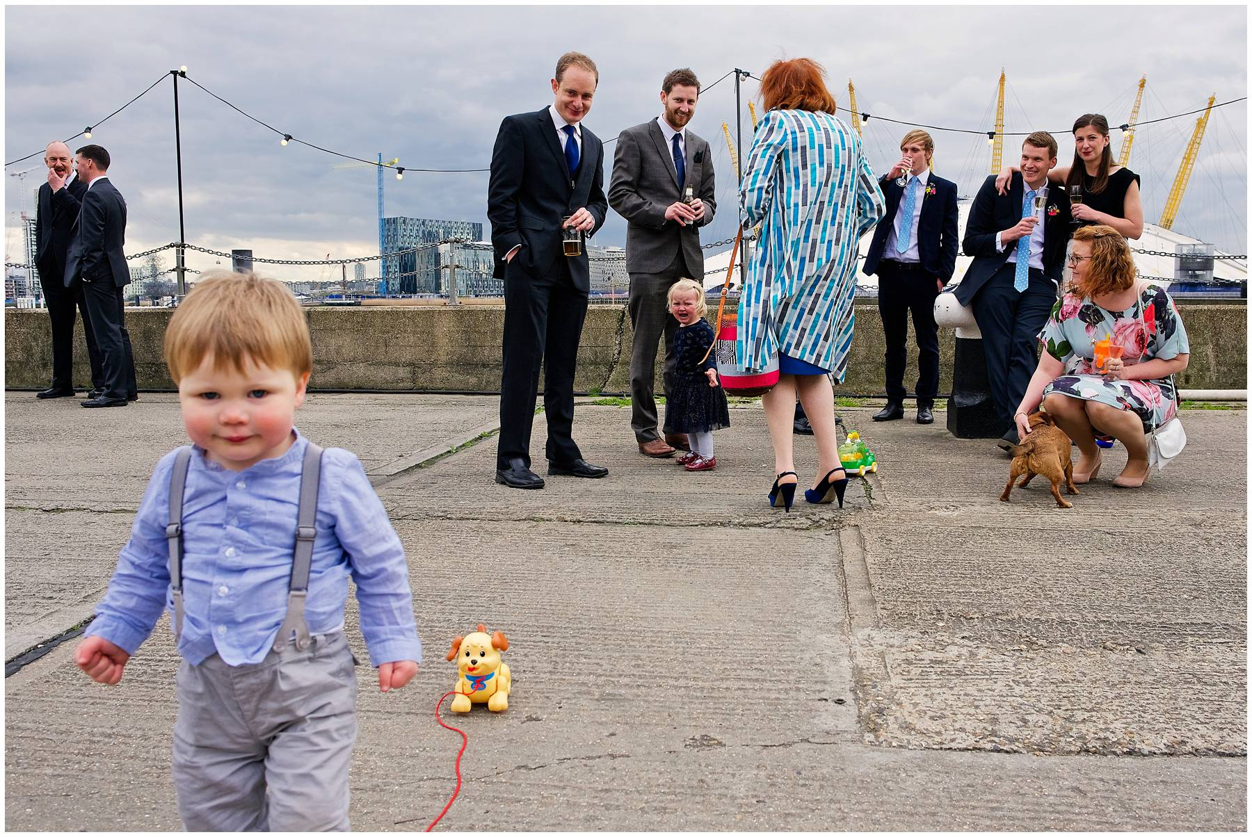 Documentary Wedding Photography at Trinity Buoy Wharf