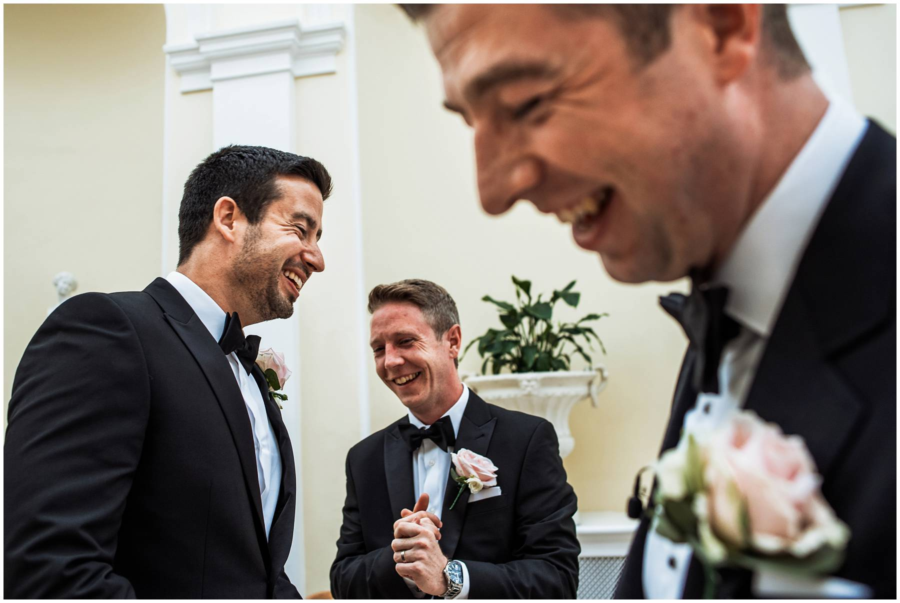 Groomsmen at Blenheim Palace Wedding