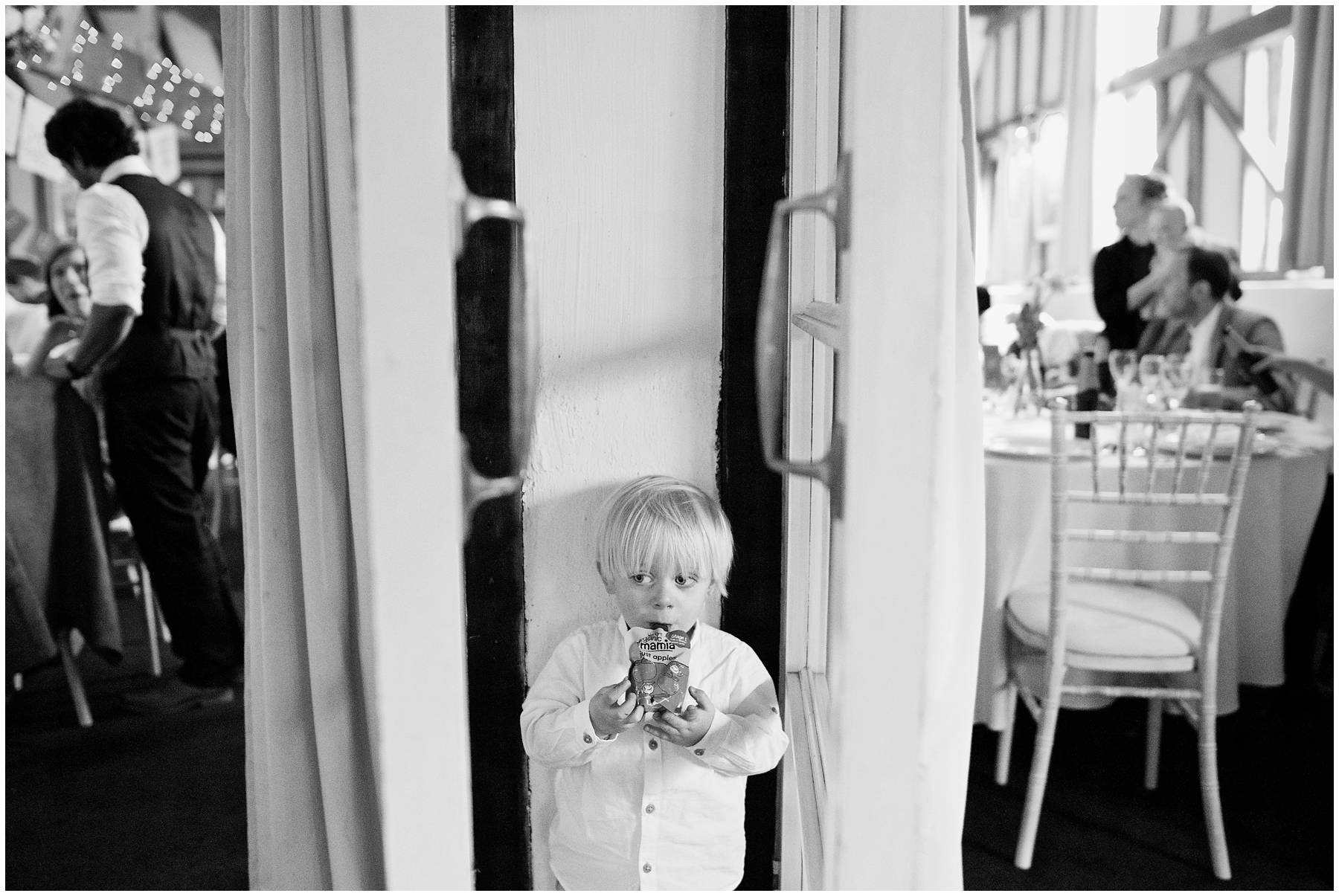 Cute kid at Reid Rooms Wedding