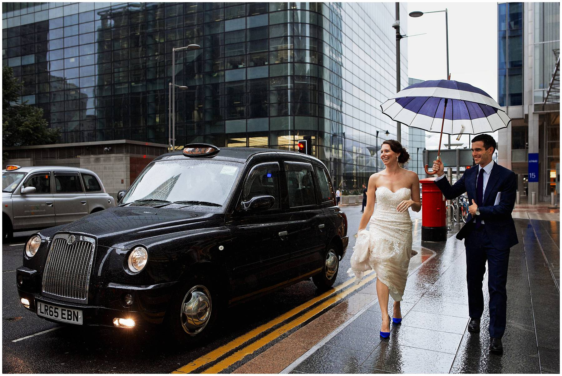 Wedding in Canary Wharf