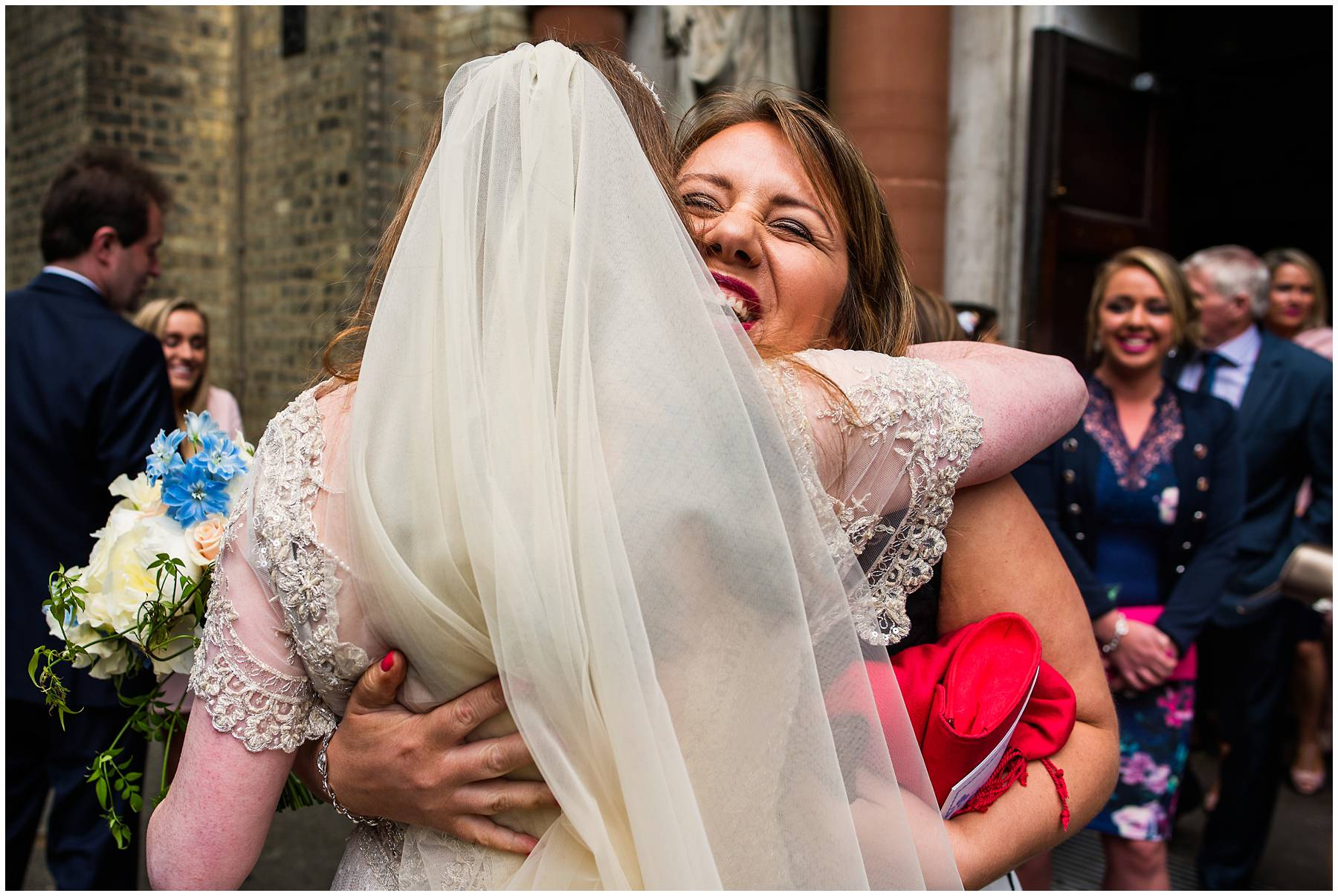 North London church wedding