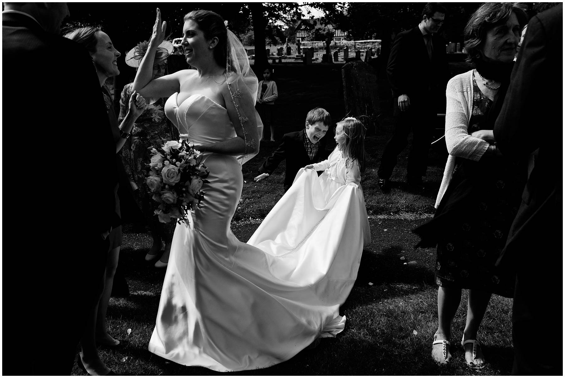 Church Wedding in Warwickshire