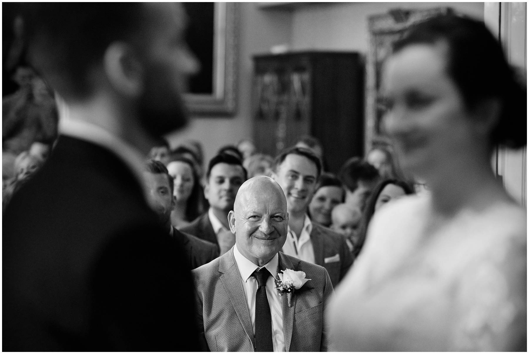 Proud Dad at Colchester Town Hall Wedding