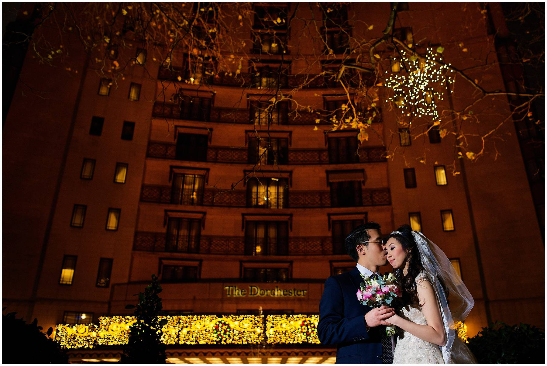 Chinese Wedding at the Dorchester Hotel