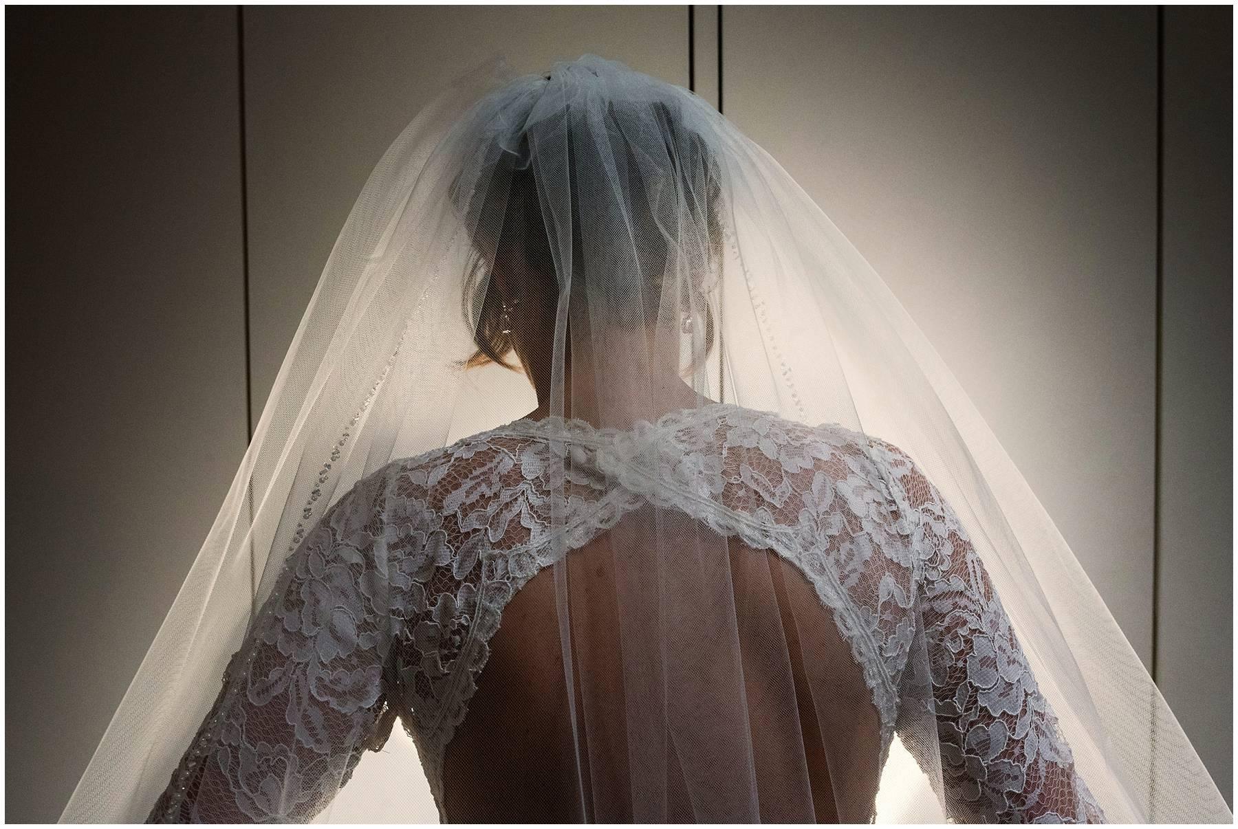 Beautiful bridal veil in Kent