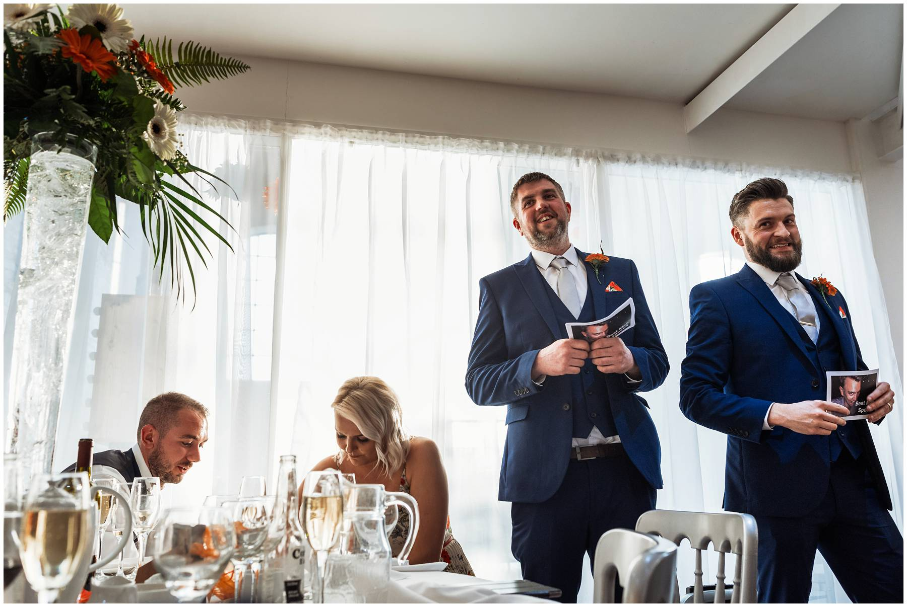 Best man speech at The Winding House in Kent