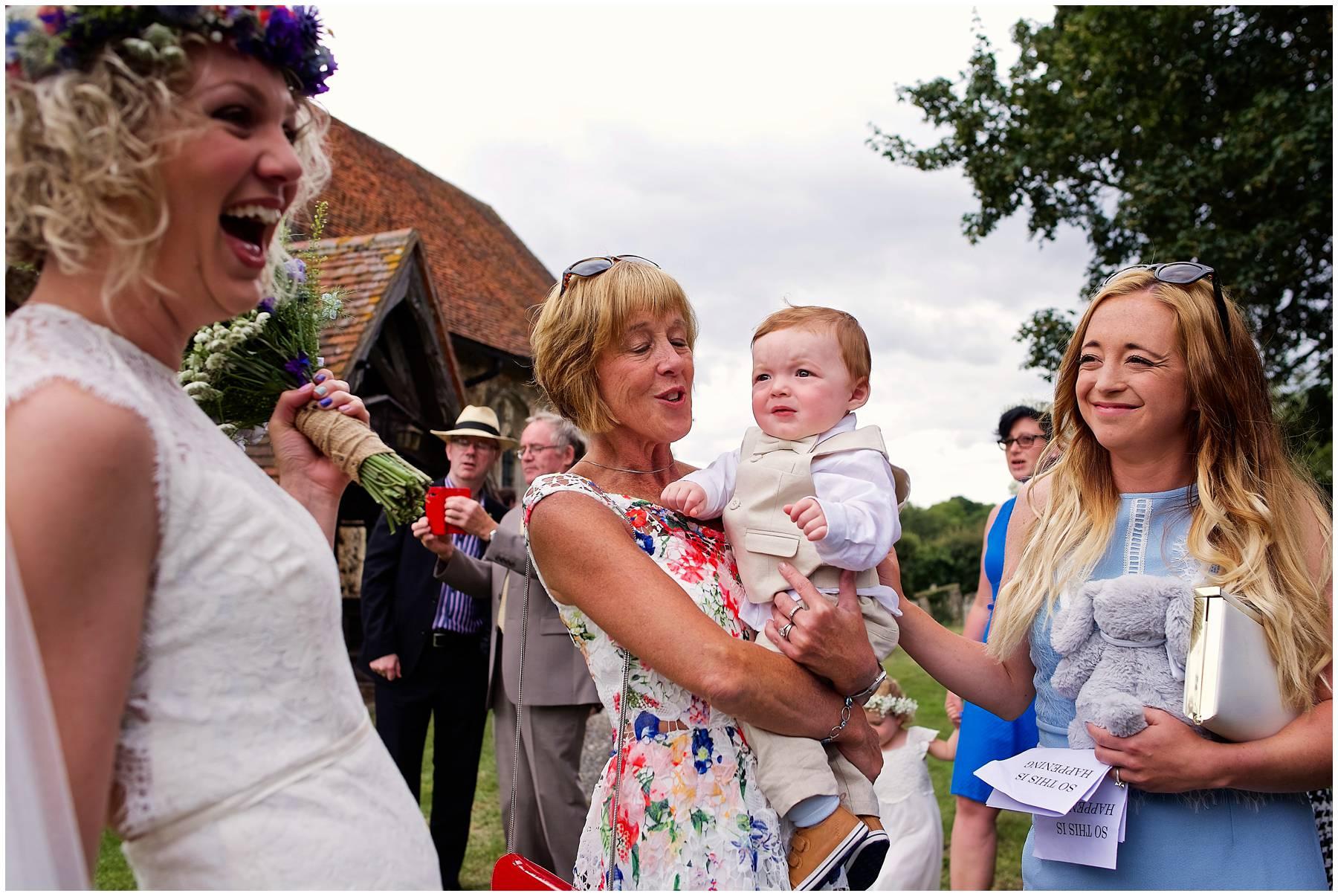 Church wedding photography in Coggeshall