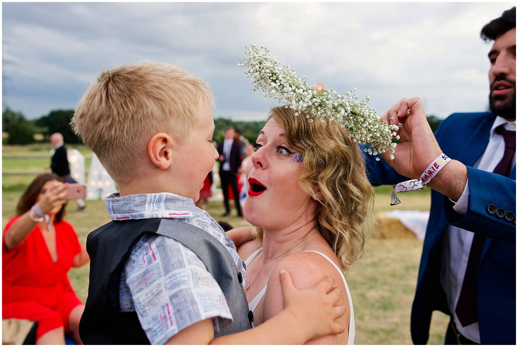 Festival Wedding Photographer in Essex